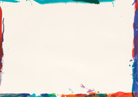 Sam Francis (1923-1994) Untitled (SF-106A; L-L108), 1969 Lithograph in colors on Rives BF