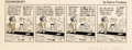 Original Comic Art:Comic Strip Art, Garry Trudeau and Don Carlton Doonesbury Daily Comic Strip Original Art dated 4-13-79 (Universal Press, 1979)....