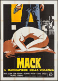 "Movie Posters:Blaxploitation, The Mack (Gold Film, 1973). Italian 4 - Fogli (55.25"" X 78"").Blaxploitation.. ..."