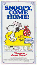 "Movie Posters:Animation, Snoopy, Come Home! (National General, 1972). Three Sheet (41"" X 77""). Animation.. ..."