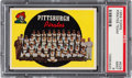 Baseball Cards:Singles (1950-1959), 1959 Topps Pittsburgh Pirates #528 PSA Mint 9 - None Higher. ...