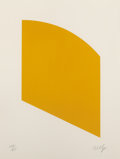 Prints:Contemporary, Ellsworth Kelly (1923-2015). Orange, 2004. Lithograph incolor on Rives BFK white paper. 11-1/2 x 7-7/8 inches (29.2 x 2...