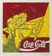 Wang Guangyi (b. 1957) Coca Cola (red), from The Great Criticism series, 2006