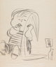 Charles Schulz - Linus and Electric Blanket Illustration Original Art (undated). Linus gets a technology upgrade with an...