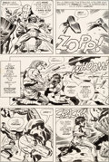 Original Comic Art:Panel Pages, Jack Kirby and Mike Royer Mister Miracle #16 Story Page 9Original Art (DC, 1973)....