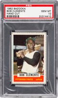 Baseball Cards:Singles (1960-1969), 1962 Bazooka (Single Card) Roberto Clemente #11 PSA Gem MT 10 - PopOne....