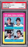 Baseball Cards:Singles (1970-Now), 1975 Topps Gary Carter - Rookie Catchers/Outfielders #620 PSA Mint 9. ...