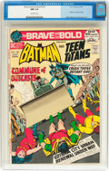 Bronze Age (1970-1979):Superhero, The Brave and the Bold #102 Batman and the Teen Titans (DC, 1972) CGC NM 9.4 Off-white pages....