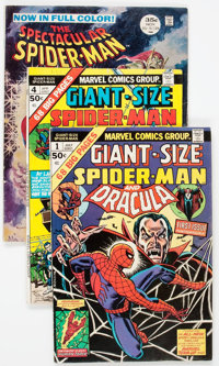 Spider-Man Related Group of 11 (Marvel, 1968-87).... (Total: 11 Comic Books)