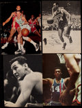 Basketball Collectibles:Photos, Basketball Greats Signed Photographs, etc. Lot of 5....