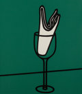 Prints:Contemporary, Patrick Caulfield (1936-2005). Some Poems of Jules Laforgue,1973. The complete set of six screenprints in colors on Neo...