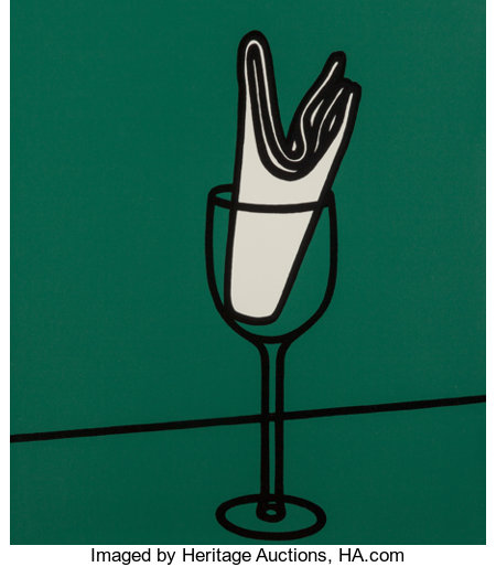 Patrick Caulfield (1936-2005)Some Poems of Jules Laforgue, 1973The complete set of six screenprints in colors on Neo...