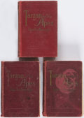 Books:Science Fiction & Fantasy, Edgar Rice Burroughs. Three Copies of Tarzan of the Apes.Chicago: A. C. McClurg, 1914. First editions.... (Total: 3 Items)