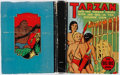 Books:Children's Books, [Big Little Books]. Edgar Rice Burroughs. Tarzan and the TarzanTwins with Jad-Bal-Ja, the Golden Lion. Racine: Whit...