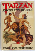 Books:Science Fiction & Fantasy, Edgar Rice Burroughs. Tarzan and the City of Gold. Tarzana:Edgar Rice Burroughs, [1933]. First edition....