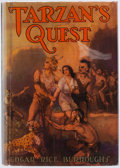 Books:Science Fiction & Fantasy, Edgar Rice Burroughs. Tarzan's Quest. Tarzana: Edgar Rice Burroughs, [1936]. First edition....