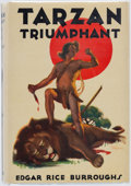 Books:Science Fiction & Fantasy, Edgar Rice Burroughs. Tarzan Triumphant. Tarzana: Edgar Rice Burroughs, [1932]. First edition....