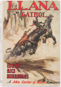 Books:Science Fiction & Fantasy, Edgar Rice Burroughs. Llana of Gathol. Tarzana: Edgar Rice Burroughs, [1948]. First edition....