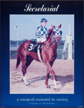 Miscellaneous Collectibles:General, Penny Tweedy and Ron Turcotte Signed Secretariat Poster....