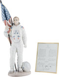 "Explorers:Space Exploration, ""The Apollo Landing"" Lladró Figurine (Retired), Mint in Box withCertificate of Authenticity, Originally from Buzz Aldrin's Pe..."