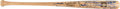 Baseball Collectibles:Bats, 2010 Hall of Fame Induction Multi-Signed Bat from the Gary Carter Collection....