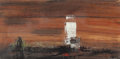 Fine Art - Painting, American:Contemporary   (1950 to present)  , Xavier González (American, 1898-1993). Texas. Mixed media onboard. 20 x 40 inches (50.8 x 101.6 cm). Signed lower right...