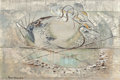 Fine Art - Painting, American:Contemporary   (1950 to present)  , David Brownlow (American, 1915-2006). Duck. Oil on Masonite.12 x 18 inches (30.5 x 45.7 cm). Signed lower left: David...
