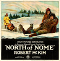 "Movie Posters:Action, North of Nome (Arrow Film, 1925). Six Sheet (80.5"" X 81"").. ..."