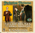 "Movie Posters:Comedy, The Small Town Guy (Essanay, 1917). Six Sheet (42"" X 86"").. ..."