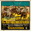 "Movie Posters:Drama, The Man Who Was Afraid (Essanay, 1917). Six Sheet (82"" X 81.5"")....."
