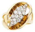 Estate Jewelry:Rings, Diamond, Gold Ring. . ...