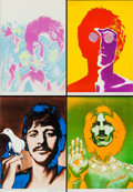 "Movie Posters:Rock and Roll, Beatles Special Daily Express Prints by Richard Avedon (NEMSEnterprises, 1967). British Posters (4) (18.75"" X 27"").. ...(Total: 4 Items)"