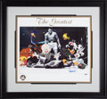 Baseball Collectibles:Others, 1999 Muhammad Ali Signed Photo Animation Lithograph from The Gary Carter Collection....