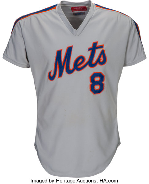 more photos 66625 e21f2 1985 Gary Carter Game Worn New York Mets Jersey from The ...