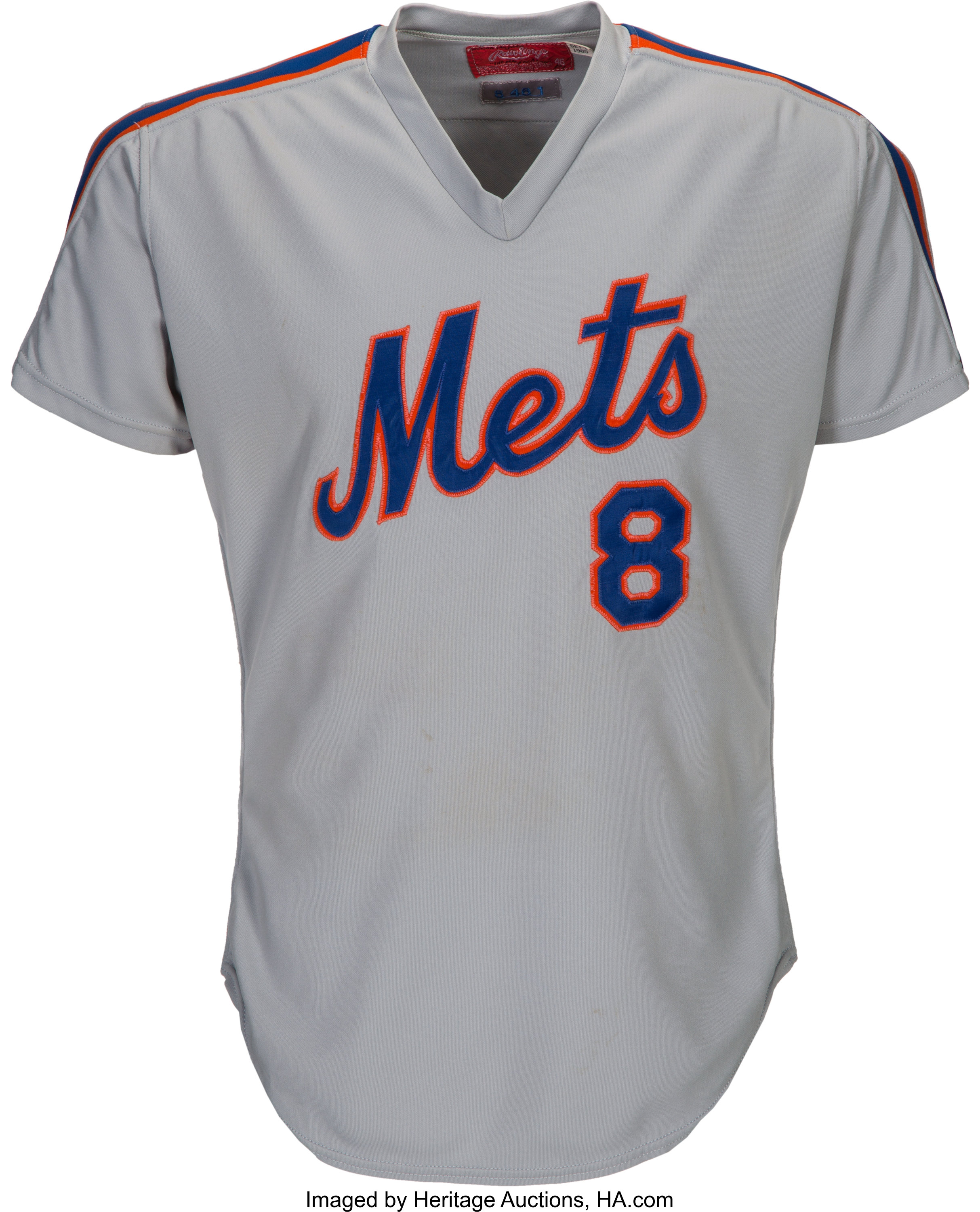 more photos f8d80 adaf1 1985 Gary Carter Game Worn New York Mets Jersey from The ...