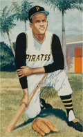 Baseball Collectibles:Others, Circa 1970 Roberto Clemente Signed Image....