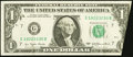 Error Notes:Foldovers, Fr. 1909-G $1 1977 Federal Reserve Note. Very Fine-Extremely Fine.....