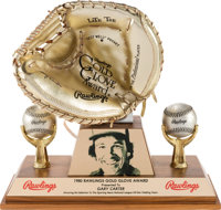 1980 Gold Glove Award from The Gary Carter Collection