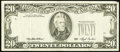 Error Notes:Third Printing on Reverse, Fr. 2079-D $20 1993 Federal Reserve Note. Very Fine-Extremely Fine.. ...