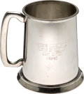 Baseball Collectibles:Others, 1985 Gary Carter Sports Illustrated Player of the Week Cup from TheGary Carter Collection. ...