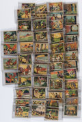 Miscellaneous:Trading Cards, [Trading Cards]. Complete Set of Tarzan and the Crystal Vault of Isis Trading Cards. Canadian Chewing Gum Compan...