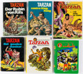 Books:Non-American Editions, [Tarzan]. Group of Six Foreign Language Books. Hamburg andelsewhere: 1970-1974. ... (Total: 6 Items)