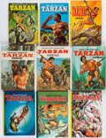 Books:Science Fiction & Fantasy, [Edgar Rice Burroughs]. Group of Sixteen Tarzan Annuals. [Racine and elsewhere: 1960-1979].... (Total: 16 Items)