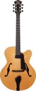Musical Instruments:Electric Guitars, Circa 2005 Martin CF-1 Natural Archtop Electric Guitar, Weight: 7lbs....