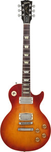 Musical Instruments:Electric Guitars, . 1990 Gibson Les Paul Cherry Sunburst Solid Body Electric Guitar,Serial # 90940540, Weight: 10 lbs....