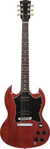 Musical Instruments:Electric Guitars, 2004 Gibson SG Faded Cherry Solid Body Electric Guitar, Serial #02804402, Weight: 6.6 llbs....