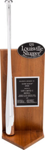 Baseball Collectibles:Others, 1981 Gary Carter Silver Slugger Award from The Gary CarterCollection....