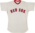 Baseball Collectibles:Uniforms, 1972 Gary Peters Game Worn Boston Red Sox Jersey. ...