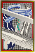 Prints, Roy Lichtenstein (1923-1997). Reflections on Expressionist Paintings, from The Carnegie Hall 100th Anniversary Portfol...