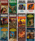 Books:Science Fiction & Fantasy, Edgar Rice Burroughs. Group of Forty-Seven Titles. New York: Ballantine Books, [1979-1997]. Paperback editions.... (Total: 47 Items)